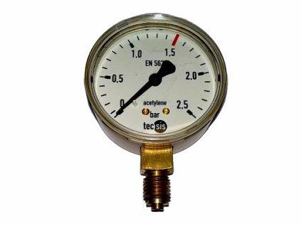Manometr pro redukční ventil