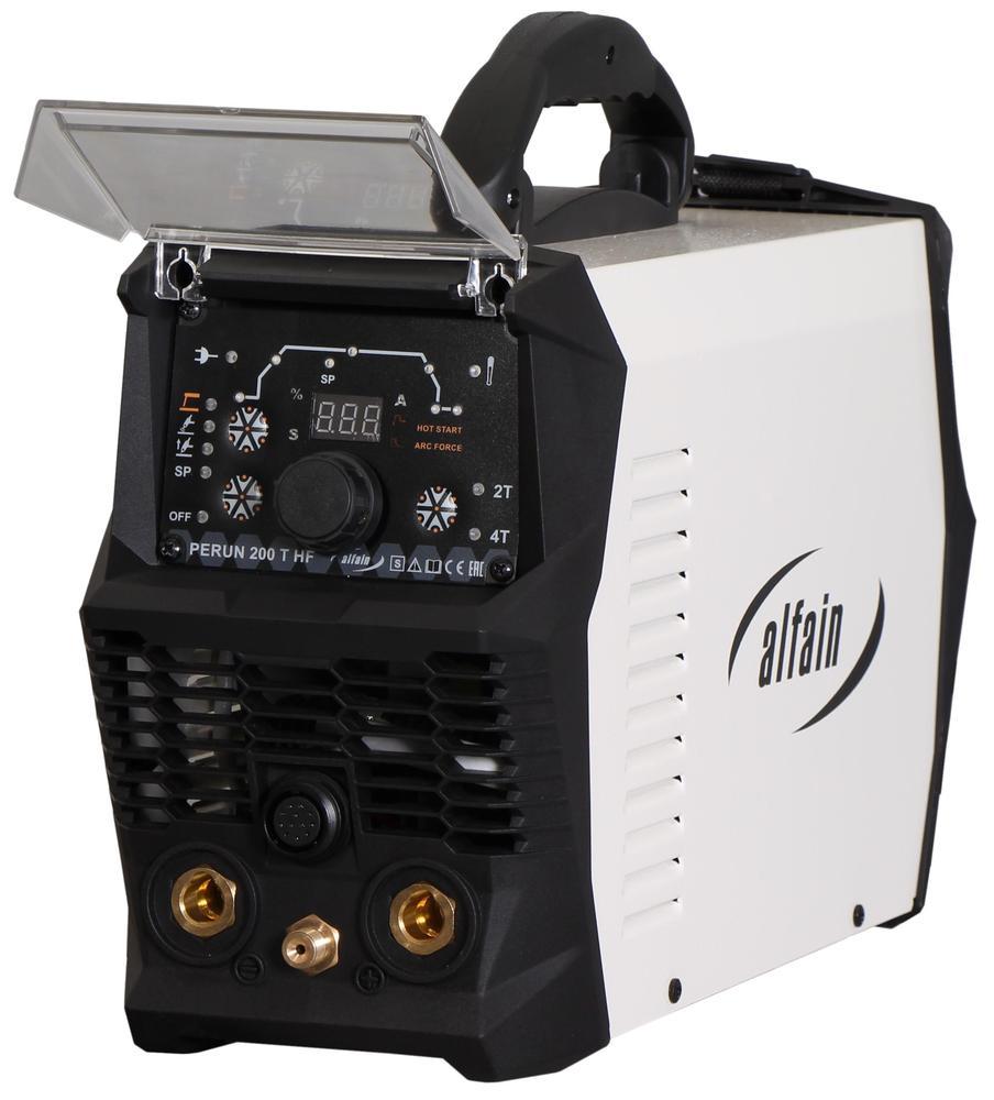 Svářečka AlfaIn TIG Perun 200 T HF pro TIG 5.0315 Kabely ZDARMA a TIG HF svářečka