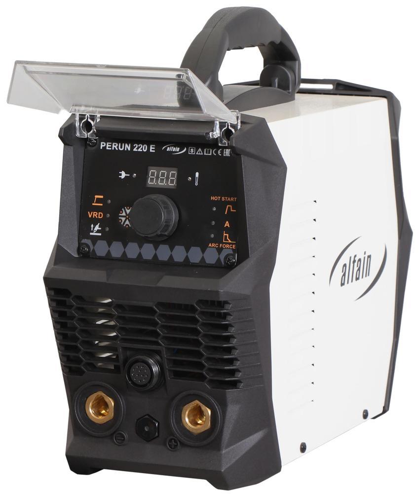 AlfaIn Invertor PERUN 220 E pro MMA a TIG 5.0317 Elektrodová a TIG svářečka
