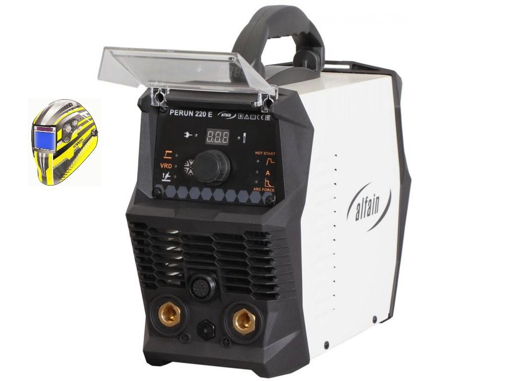 PERUN 220 E Varianta: SET 5: svářečka s výbavou v popisu stroje + kukla expert 730ARC++ 5.0317 výhodný SET - další příslušenství ZDARMA