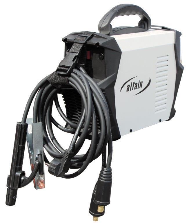 AlfaIn Inventor PERUN 220 E pro MMA a TIG - výhodný SET Varianta SETu: SET 3 obsahuje svářečku s výbavou uvedenou v popisu stroje + kukla profi + RV Argon + hořák TIG 5.0317 výhodný SET - další příslušenství ZDARMA