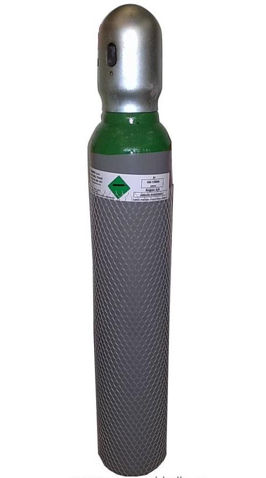 Proindustry Tlaková láhev na Argon 4.8 - 8 litrů - NOVÁ plná NOVÁ lahev