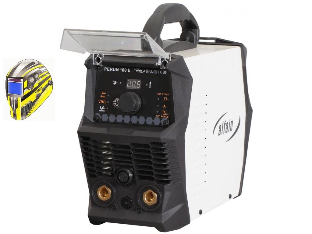 PERUN 160 E Varianta: SET 5: svářečka s výbavou v popisu stroje + kukla expert 730ARC++ výhodný SET - další příslušenství ZDARMA