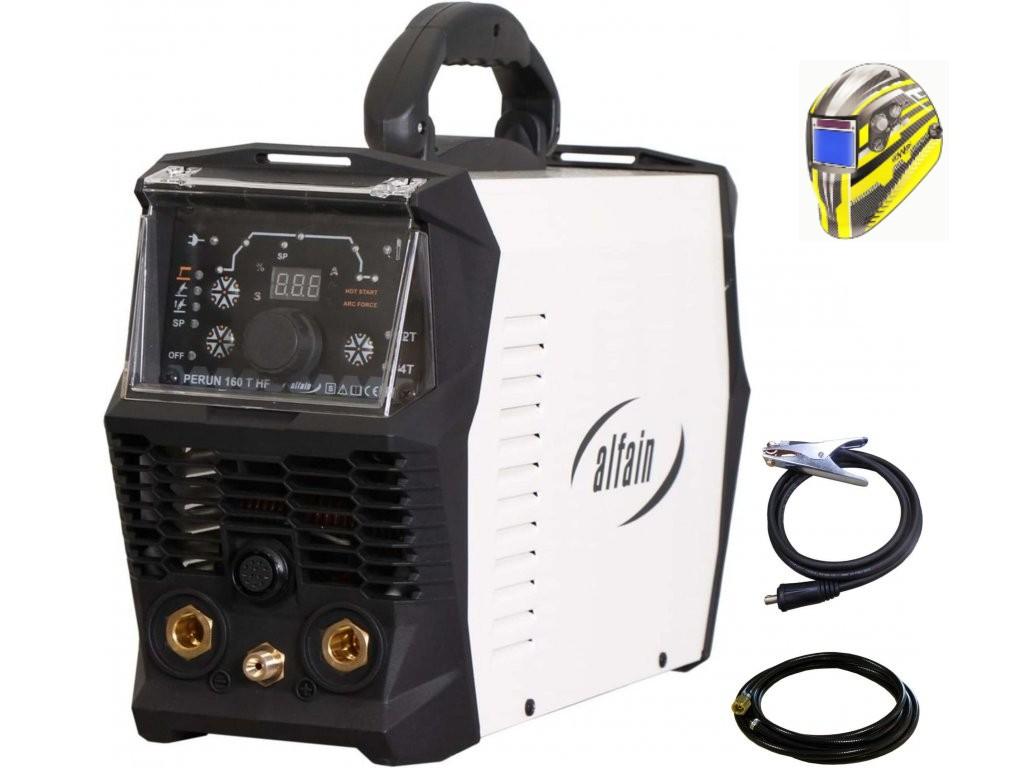Perun 160 T HF Varianta: SET 5: svářečka s výbavou v popisu stroje + kukla expert 730ARC++ výhodný SET - další příslušenství ZDARMA