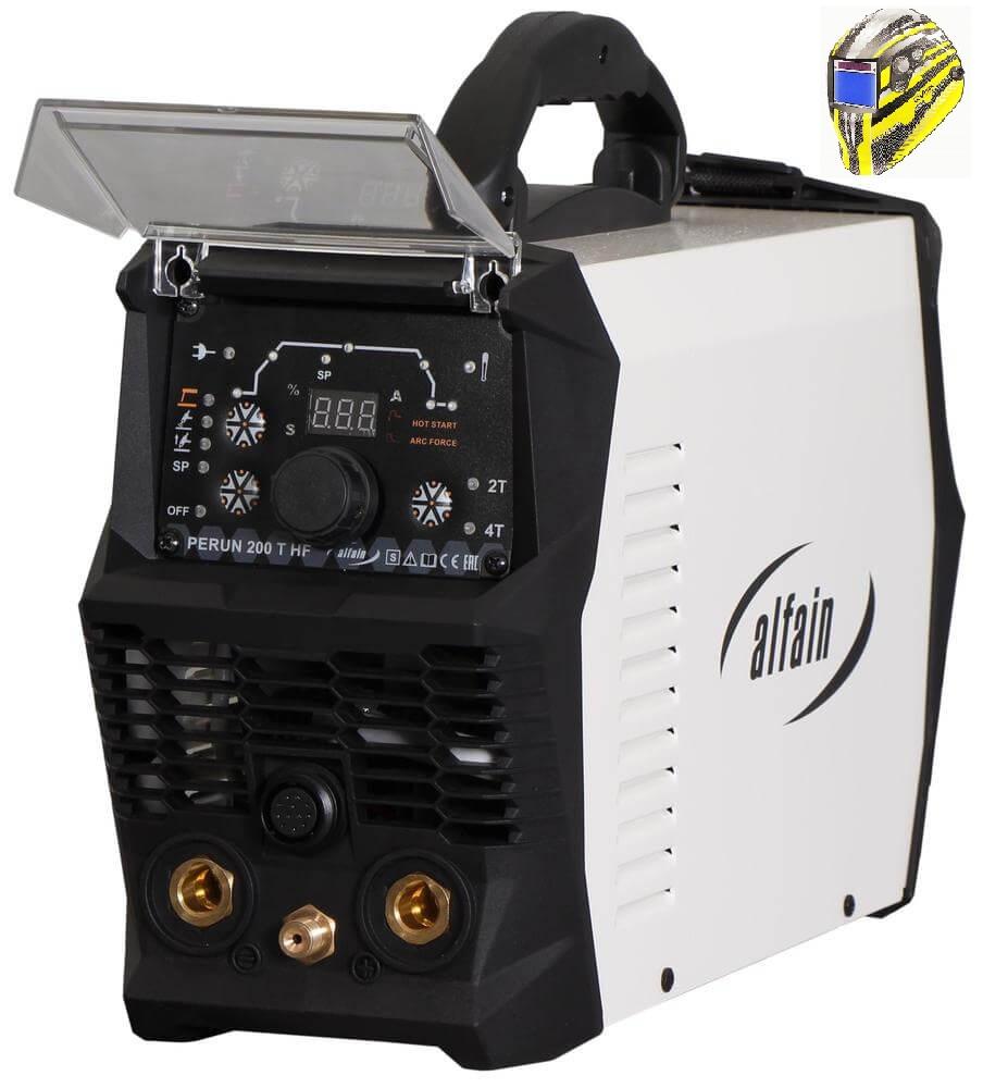 Perun 200 T HF Varianta: SET 5: svářečka s výbavou v popisu stroje + kukla expert 730ARC++ 5.0315 výhodný SET - další příslušenství ZDARMA