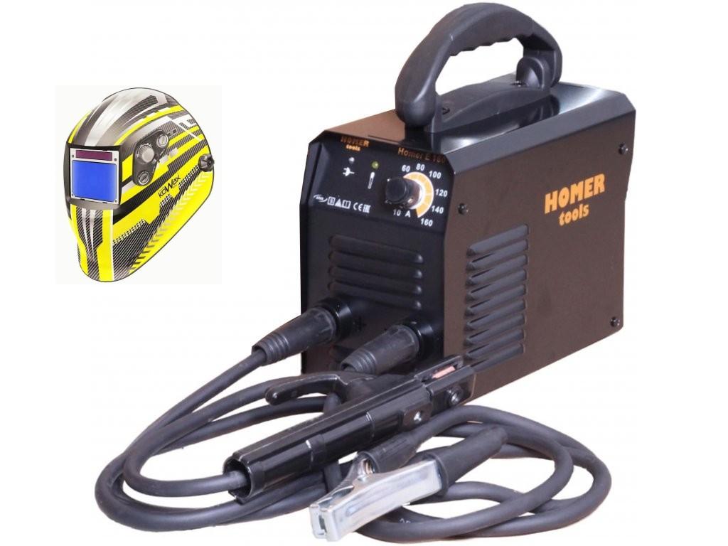 Homer E 160 Varianta: SET 5: svářečka s výbavou v popisu stroje + kukla expert 730ARC++ 5.0530 výhodný SET - další příslušenství ZDARMA