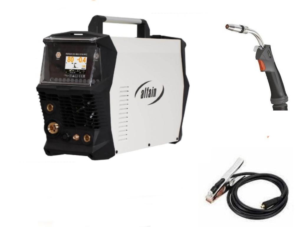 PERUN 200 MIG SYN PFC Varianta: SET 18: svářečka s výbavou v popisu stroje + hořák CO2 výhodný SET - další příslušenství ZDARMA