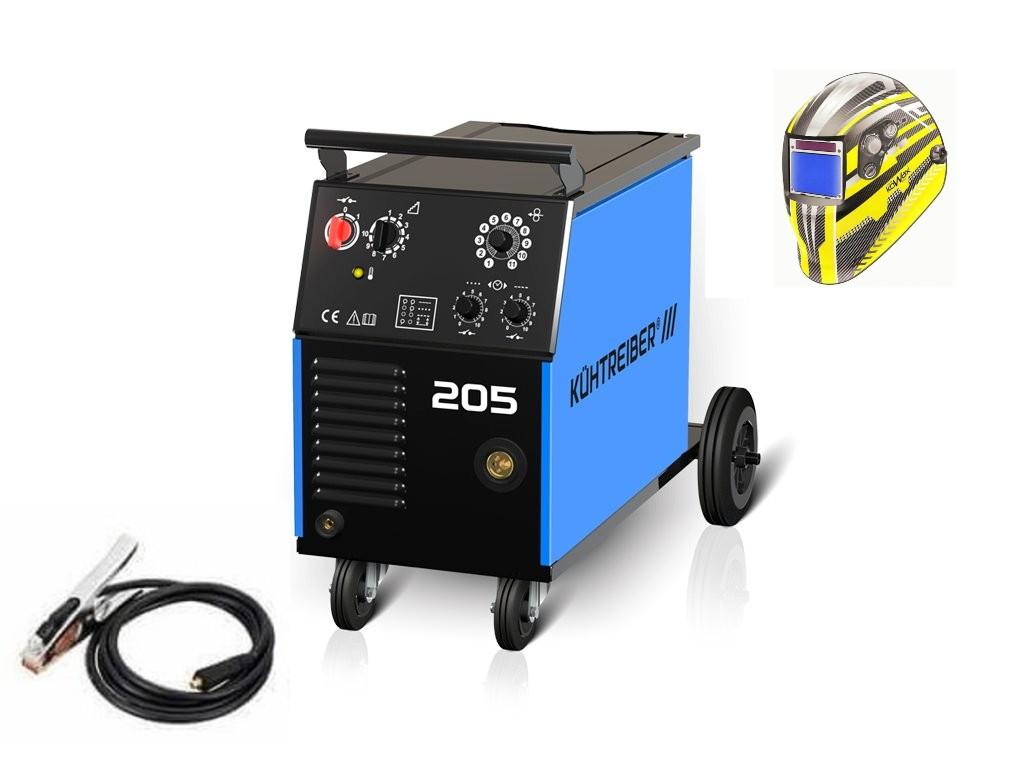KIT 205 Varianta: SET 5: svářečka s výbavou v popisu stroje + kukla expert 730ARC++ výhodný SET - další příslušenství ZDARMA