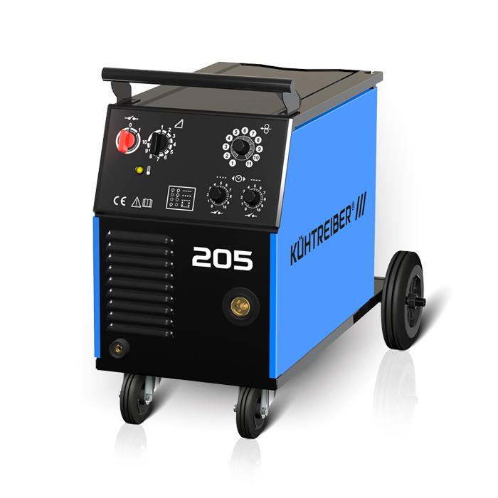 KIT 205 Varianta: SET 20: svářečka s výbavou v popisu stroje + hořák CO2 + RV CO2 + lahev CO2 plná výhodný SET - další příslušenství ZDARMA
