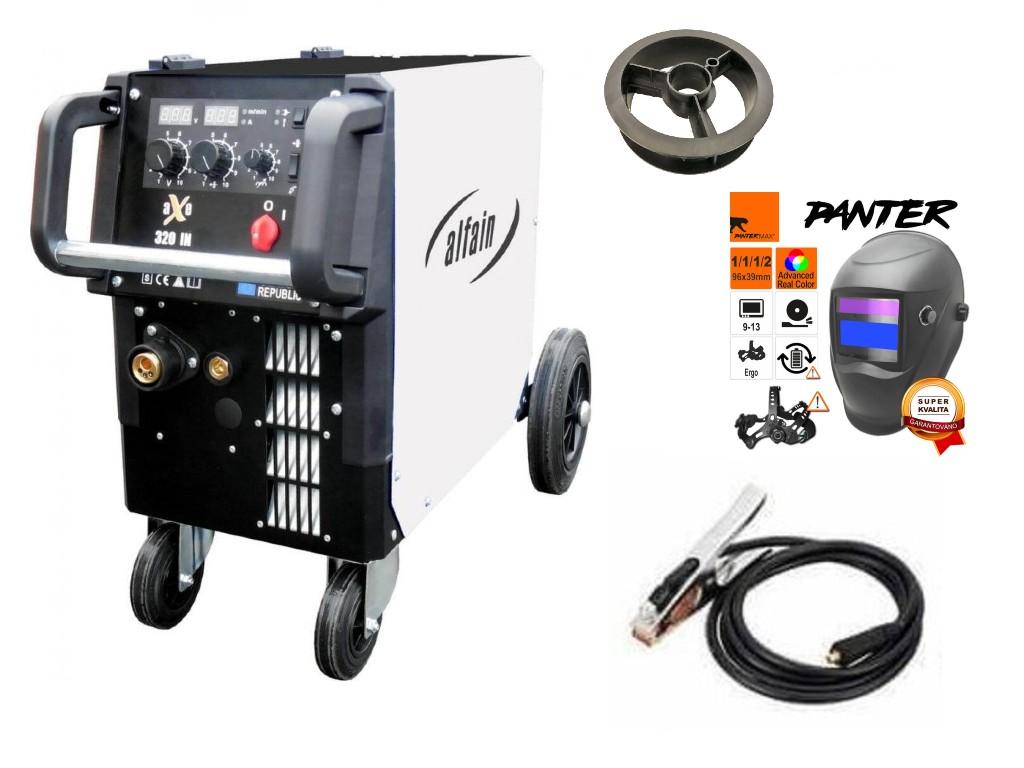 aXe 320 IN MIG MAN-4 Varianta: SET 1: svářečka s výbavou v popisu stroje + kukla eco Panter výhodný SET - další příslušenství ZDARMA