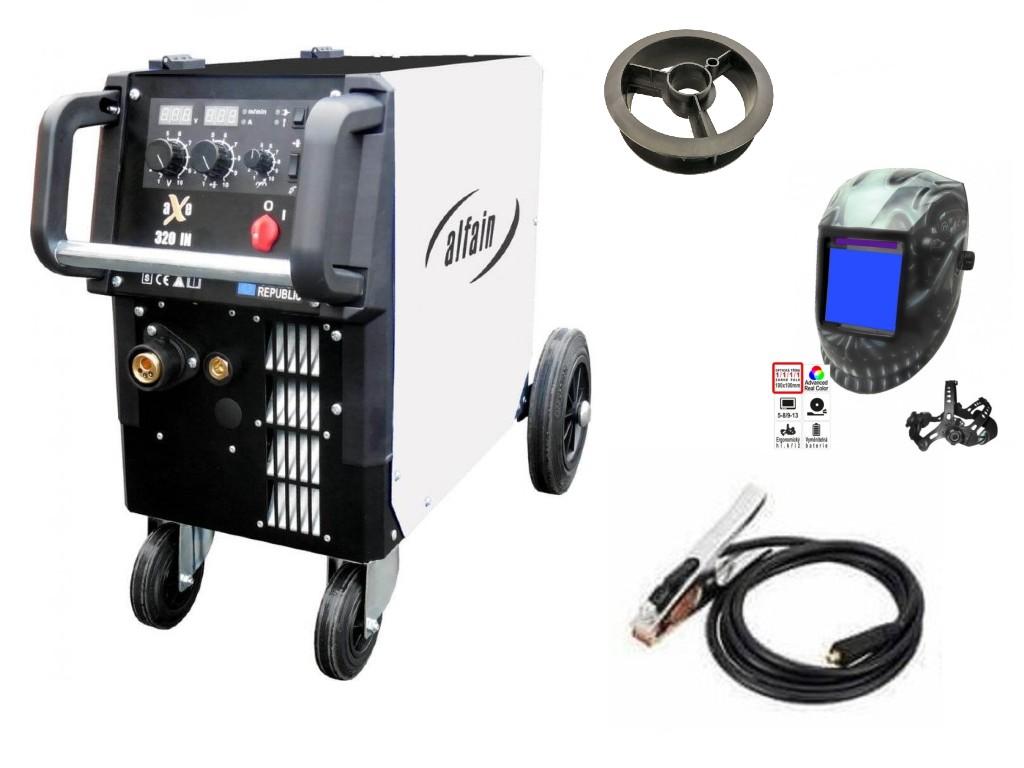 aXe 320 IN MIG MAN-4 Varianta: SET 2: svářečka s výbavou v popisu stroje + kukla profi Predátor výhodný SET - další příslušenství ZDARMA