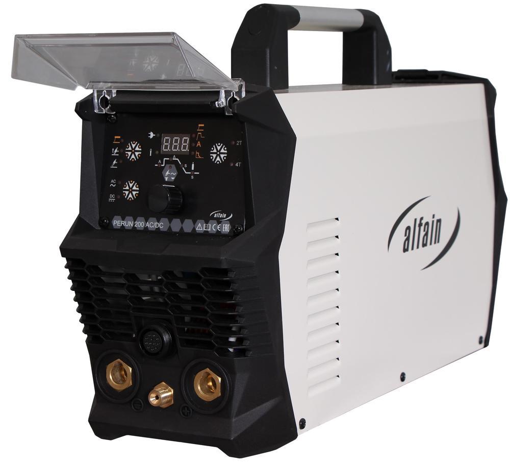 Svářecí invertor Perun 200 AC/DC HF AlfaIn pro TIG 5.0294 Hořák a kabely ZDARMA, TIG AC/DC HF svářečka