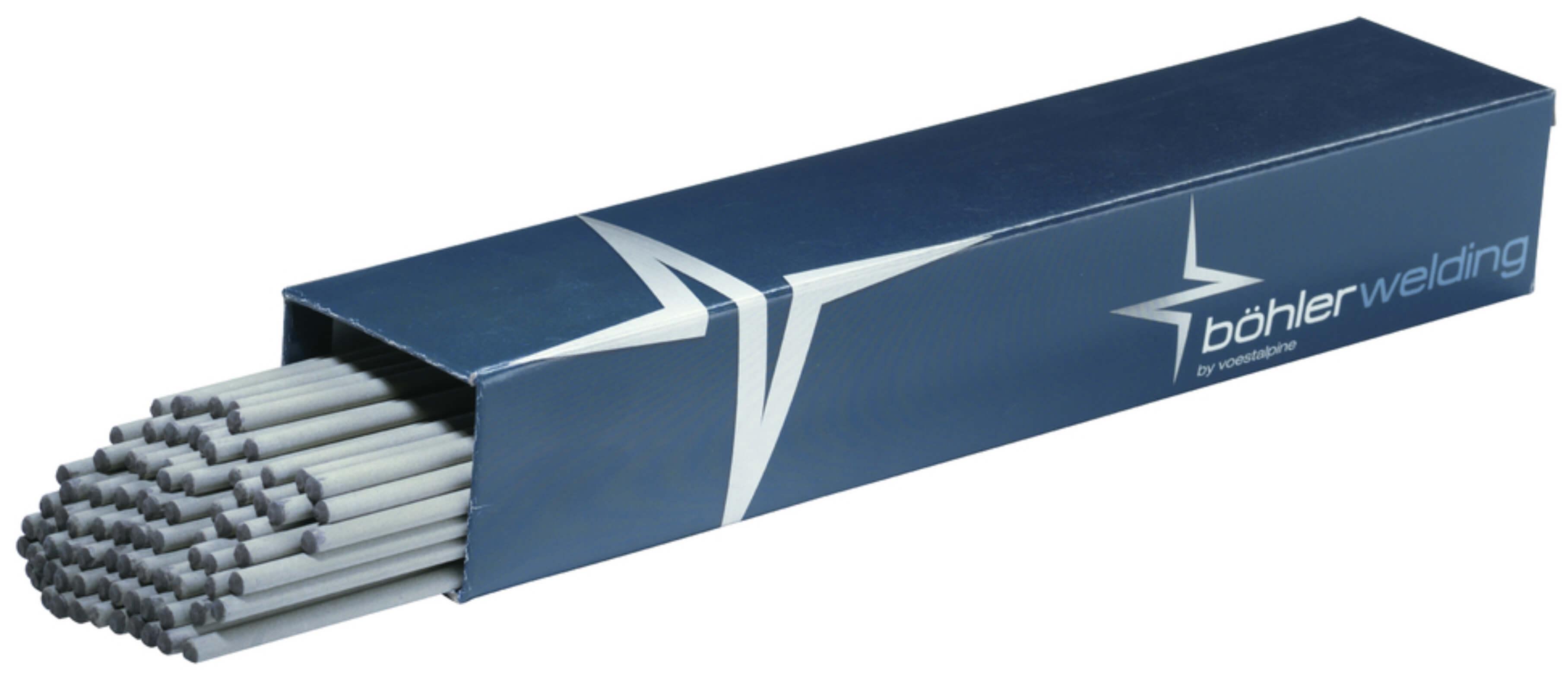 BÖHLER BASICKÉ svářecí elektrody 7018, Ǿ 2.5 - 4.0 mm x 350/450 mm Balení:: 3,20 mm 202520402 kvalitní bazické elektrody na sváření