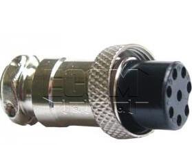Kühtreiber Konektor pro připojení TIG hořáku (8-pin) 31374 pro svářečky Kuhtreiber řady KITin HF (nikoli HF RS)