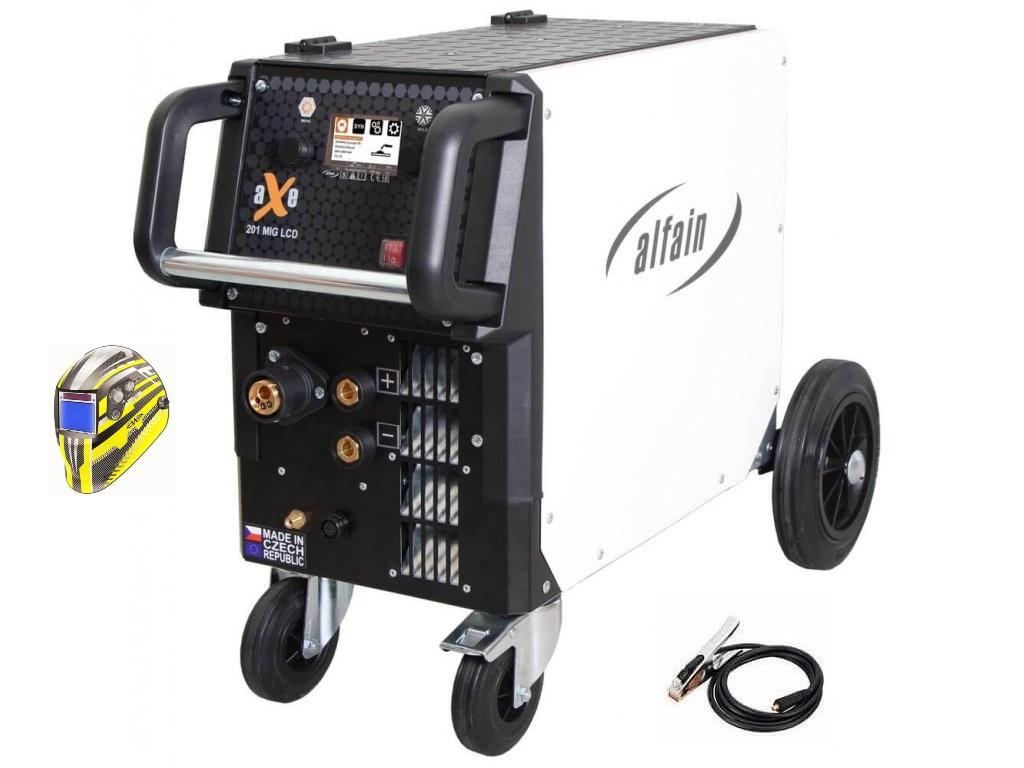 aXe 201 MIG LCD Synergy Varianta: SET 5: svářečka s výbavou v popisu stroje + kukla expert 730ARC++ 5.0318/SET5 výhodný SET - další příslušenství ZDARMA