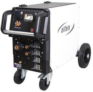 Svářečka MIG/MAG AlfaIn aXe 201 MIG LCD Synergy pro CO2 - výhodný SET Varianta: SET 10: svářečka s výbavou v popisu stroje + RV CO2 + kukla profi Predátor 5.0318/SET10 výhodný SET - další příslušenství ZDARMA