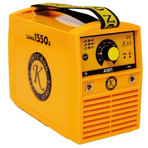 Gama 1550A 2377 Elektrodová a TIG svářečka