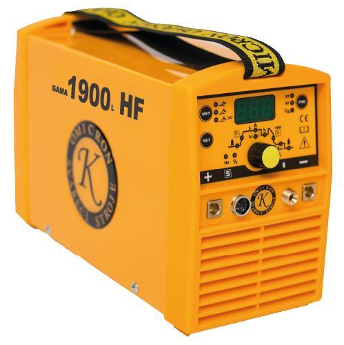 Gama 1900L HF Puls 2610 TIG svářečka