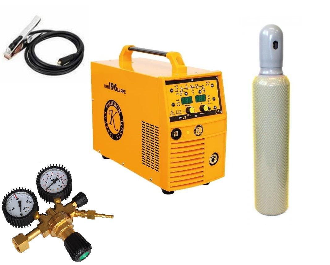 OMI 196LS PFC Synergy Pulz Varianta: SET 21: svářečka s výbavou v popisu stroje + RV CO2 + lahev CO2 plná 2863 výhodný SET - další příslušenství ZDARMA