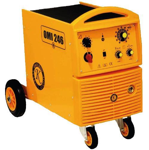 Svářečka MIG/MAG Omicron OMI 246 pro MIG - výhodný SET Varianta: SET 10: svářečka s výbavou v popisu stroje + RV CO2 + kukla profi Predátor 2794 výhodný SET - další příslušenství ZDARMA