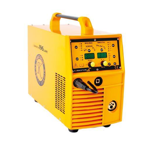 GAMASTAR 196LS PFC Varianta: SET 20: svářečka s výbavou v popisu stroje + hořák CO2 + RV CO2 + lahev CO2 plná 2844 výhodný SET - další příslušenství ZDARMA
