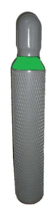 Proindustry Tlaková láhev na Biogas směsný plyn na pivo - 8 litrů - NOVÁ plná BIO8 NOVÁ lahev