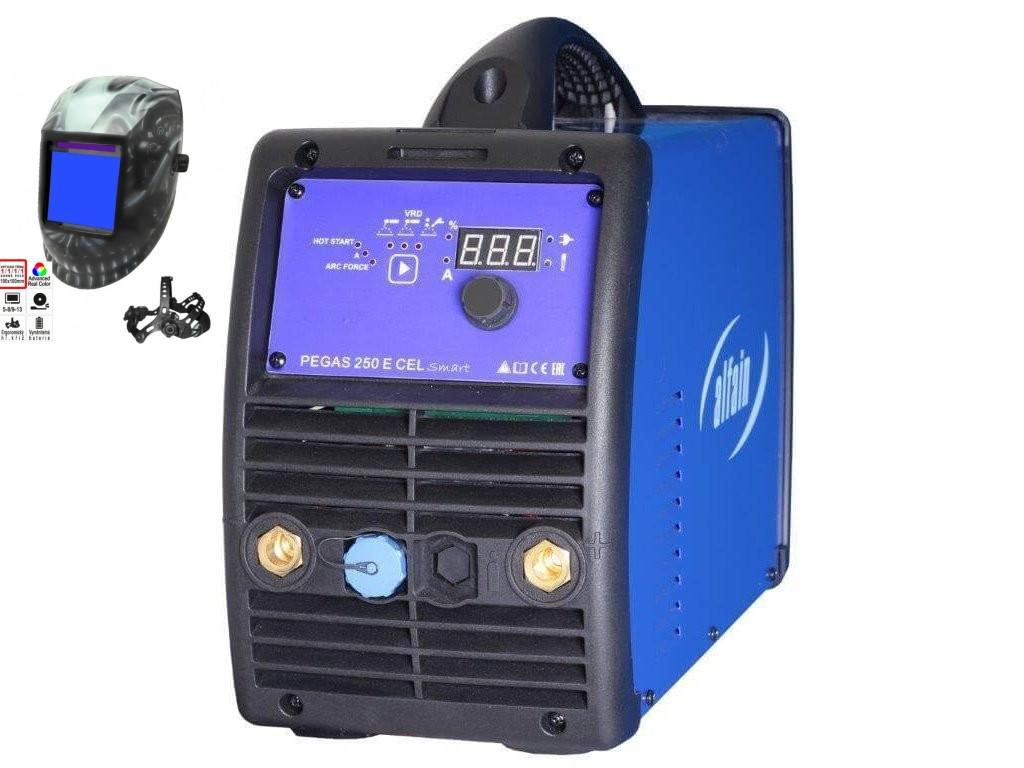Pegas 250 E CEL smart Varianta: SET 2: svářečka s výbavou v popisu stroje + kukla profi Predátor 5.0287 výhodný SET - další příslušenství ZDARMA