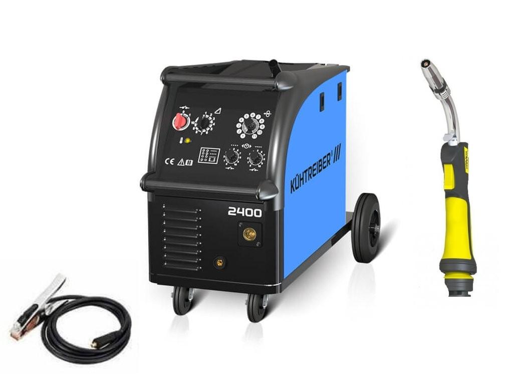 KIT 2400 Varianta: SET 18: svářečka s výbavou v popisu stroje + hořák CO2 51157 výhodný SET - další příslušenství ZDARMA