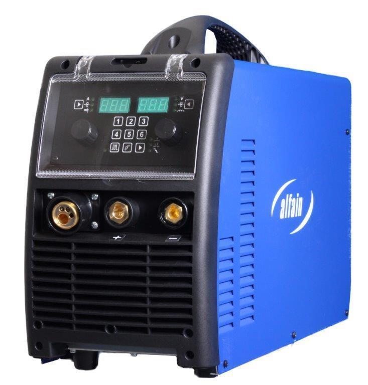 Svařovací synergický invertor aXe 320 Mobil Gas AlfaIn E.110P MMA a MIG/MAG - CO2 svářečka