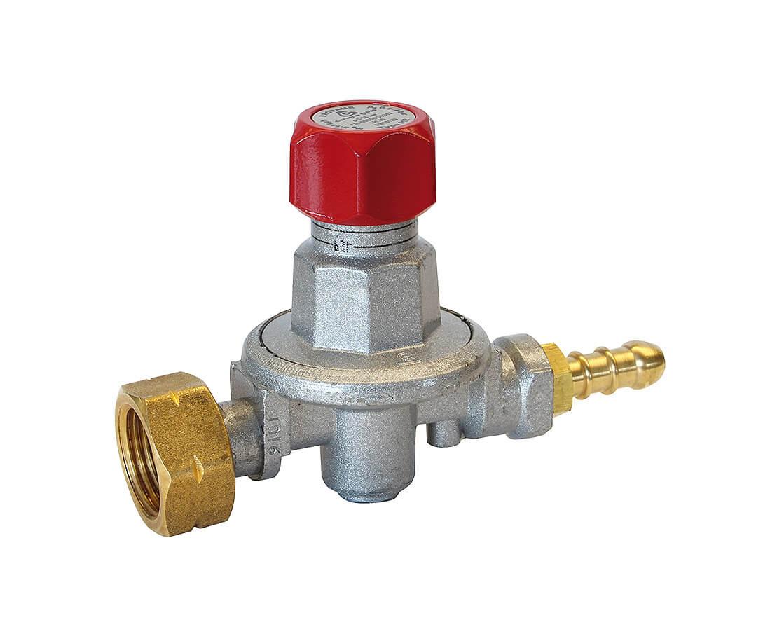 Regulátor tlaku Propan-butan nastavitelný 0,5 - 4 bar UNP01011