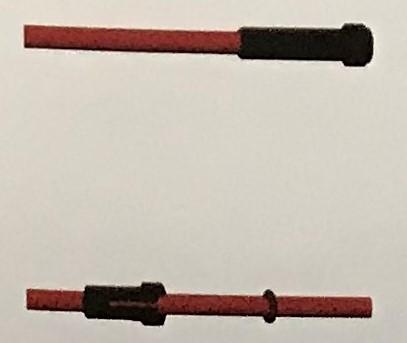 Abicor Binzel Náhradní díly hořák CO2 150A Díly hořák CO2 150A: Bowden teflon 0,6 5m