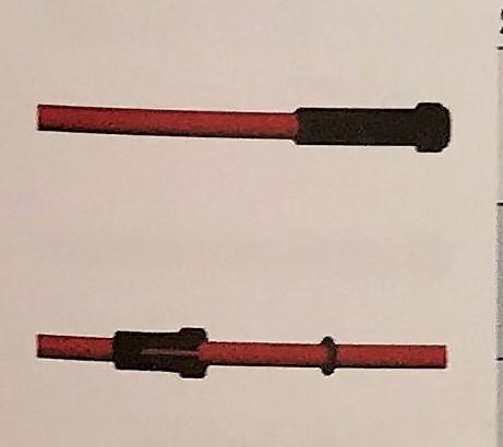 Abicor Binzel Náhradní díly svářecí hořák CO2 240A Díly hořák CO2 240A: Bowden 0,8 3m