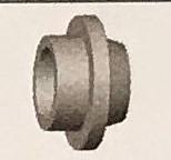 Abicor Binzel Náhradní díly hořák TIG 17, 18 a 26 A Díly hořák TIG 17A: Adaptér BJ=10