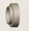 Abicor Binzel Náhradní díly hořák TIG 9, 20 A Díly hořák TIG 9, 20A: Izolační kroužek
