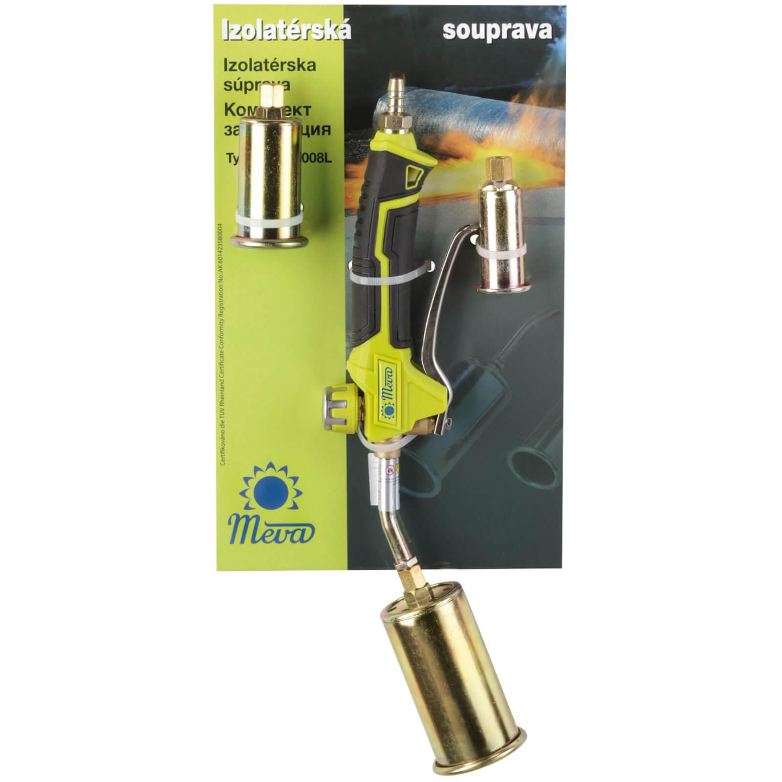 MEVA Izolatérská souprava Propan-butan 3,7 - 28 kW UH008L izolatérský hořák s regulací