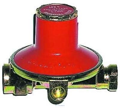 Proindustry Regulátor tlaku Propan-butan 50 mbar + větší průtok regulátor tlaku na Propan-butan s velkým průtokem