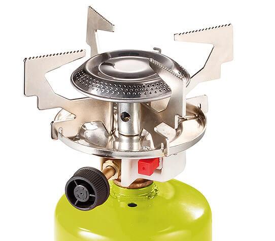 MEVA Vařič na plynové kartuše Propan-butan KP06011P campingový vařič na plynové kartuše