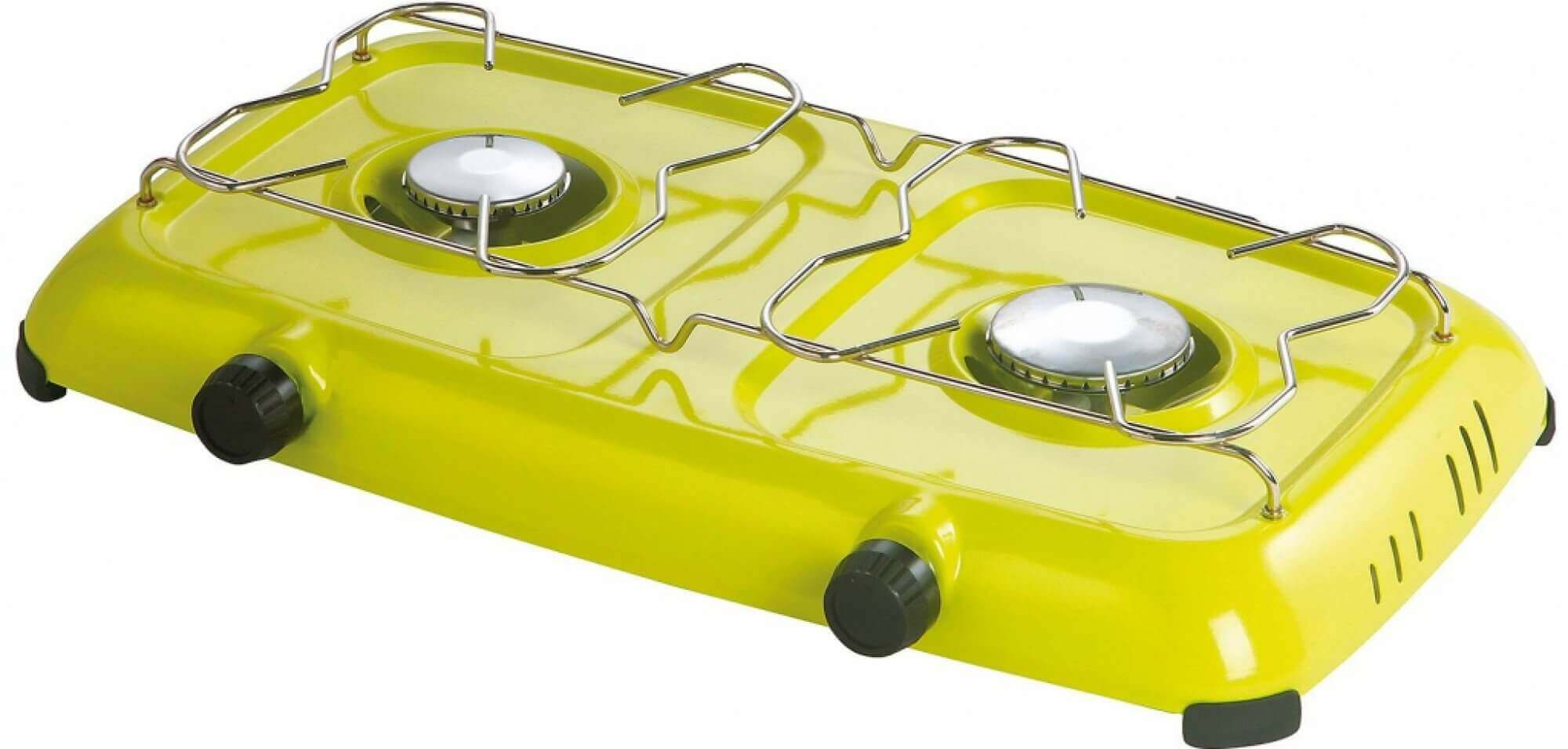 MEVA Vařič na Propan-butan - 2 plotýnky domácí dvouplotýnkový vařič na Propan-butan
