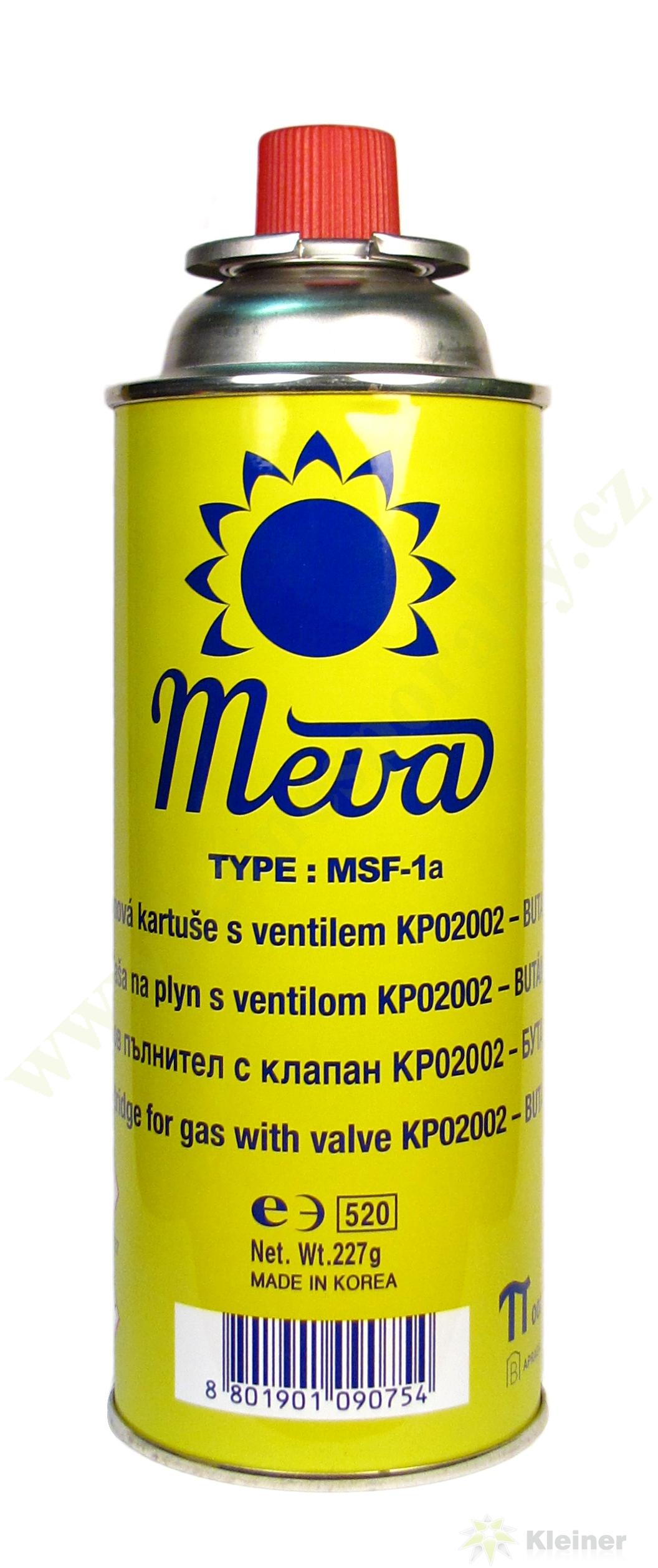MEVA Kartuše plynová směs Propan-butan 227g