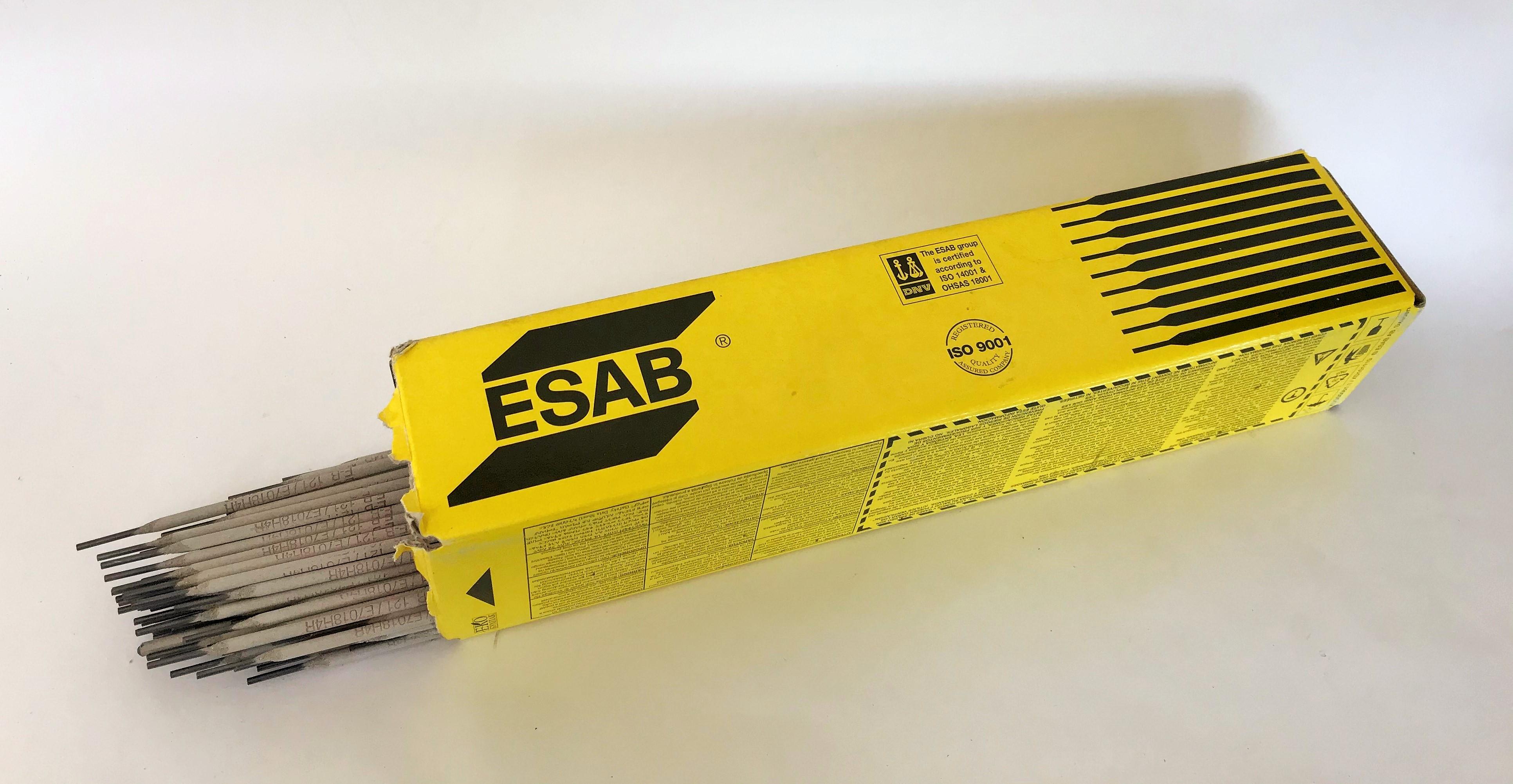 Elektrody basické EB 123, Ǿ 2.0 - 3.2 mm x 300 - 450 mm ESAB® Kus: 2,00 mm