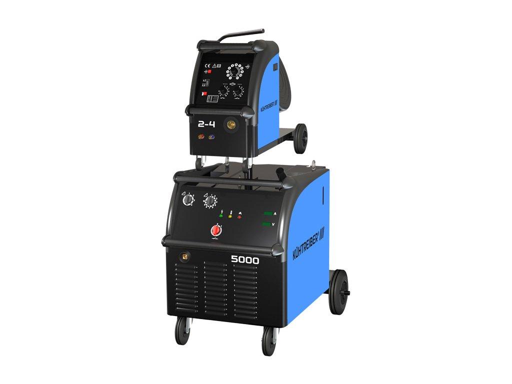 Svařovací stroj KIT 5000 WS s odnimatelným posuvem