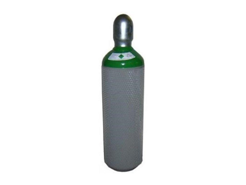Tlaková láhev Argon mix 82% Argonu a 18% CO2 8litrů