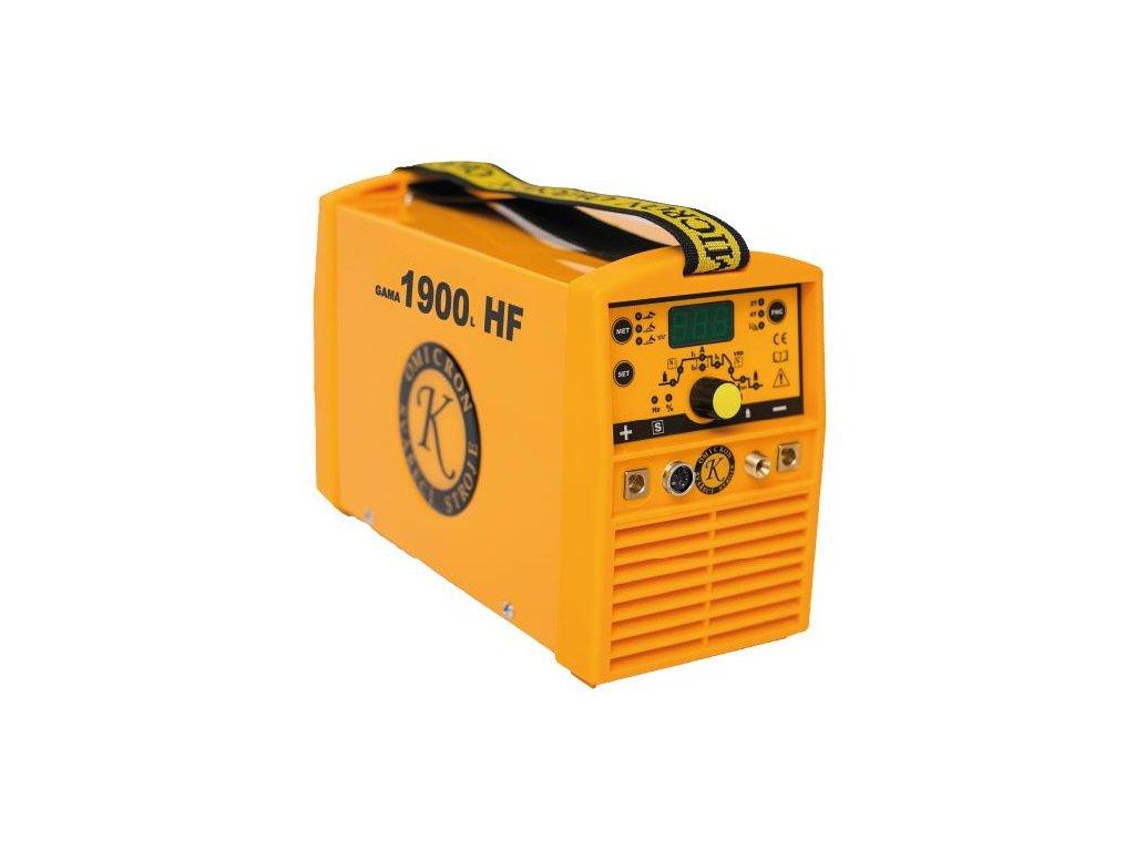 Svářecí invertor GAMA 1900L HF