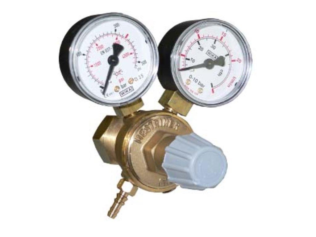 Redukční ventil MICRO MEI / 2 manometry - dotované