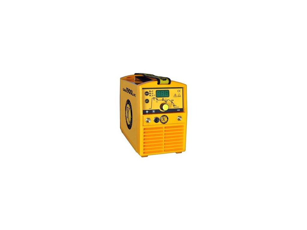 Svářecí invertor GAMA 1900L PFC + žlutý kufr PFC