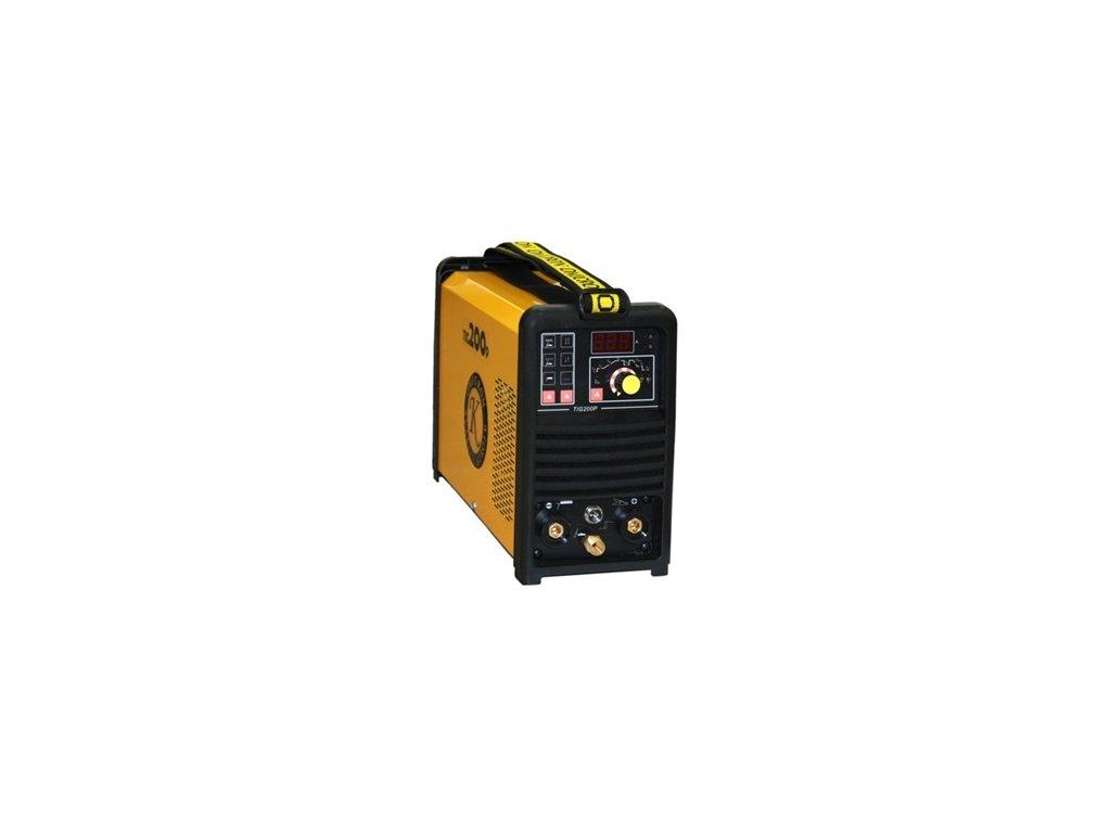 GAMA TIG 200P HF + hořák 4m + zemnící kabel