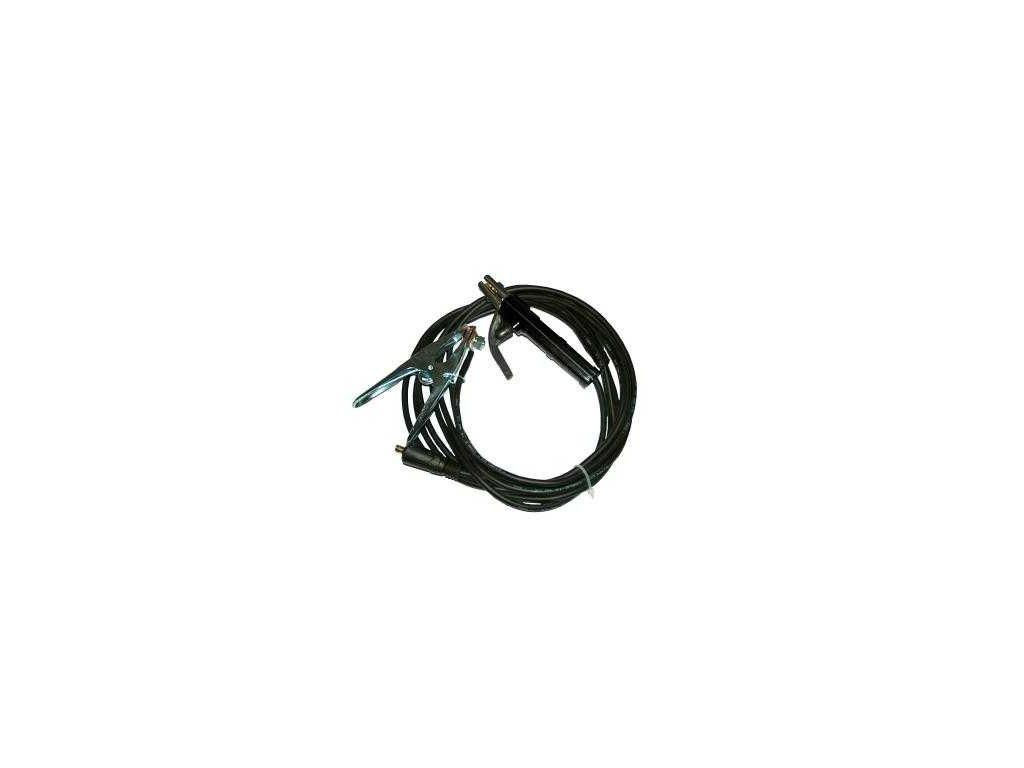 Svařovací kabely SK 25/5m s koncovkou 35-50-dotované