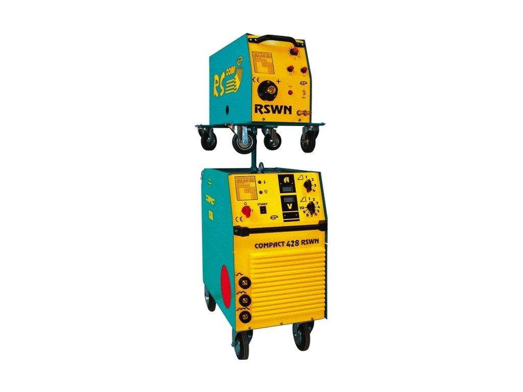 Compact 428 RSWN + red. ventil + hořák + samostmívací kukla