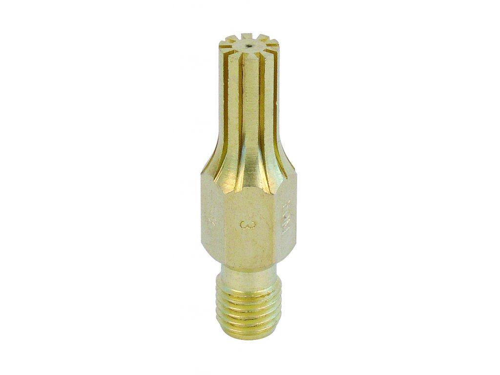 Řezací drážkovaná hubice 459 PB 3-8