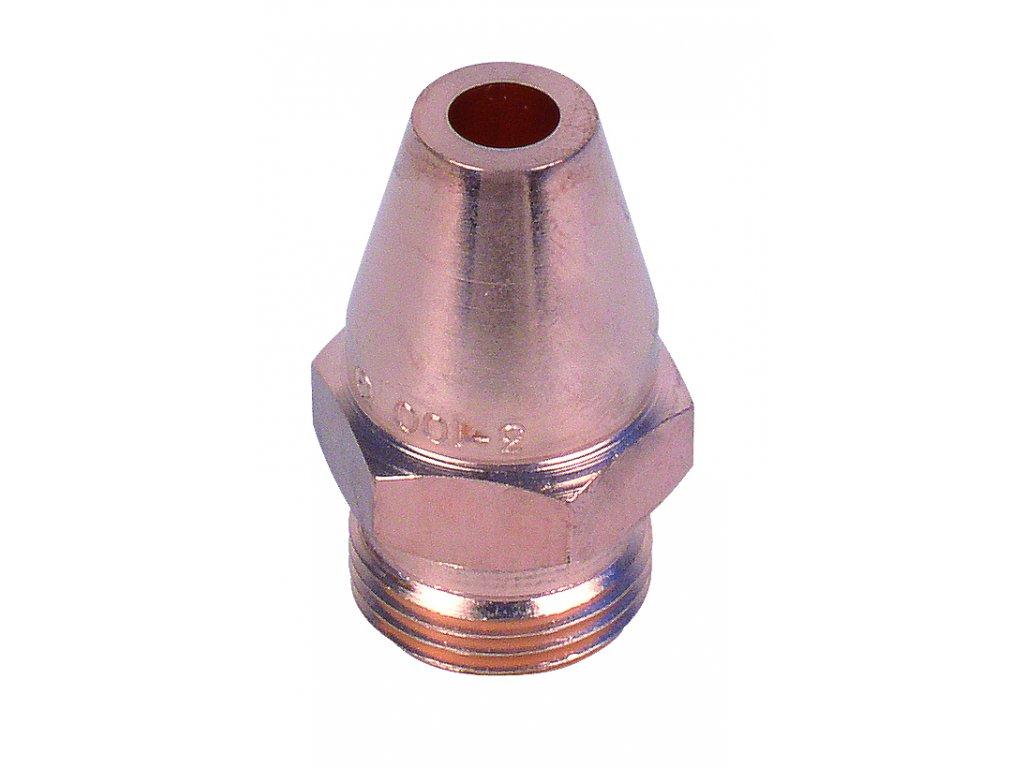 Nahřívací hubice drážkovaná 459 AC 100-300 mm